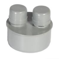 Вакуумный клапан ( АЭРАТОР ) Ф 110 мм. серый
