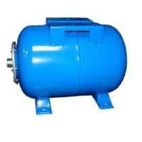 Гидроаккумулятор (ресивер) СИНИЙ WAO 100  Wester горизонтальный