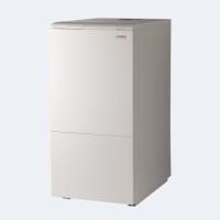 Котел напольный чугунный Protherm 40 КLZ МЕДВЕДЬ, 24,5-38,5 кВт, электророзжиг, встроенный бойлер 90 литров (вес 185кг)