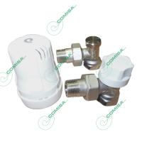 Набор для радиатора с термоголовкой 1/2 угловой Comisa 88.16.350