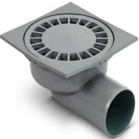 Трап канализационный Ф 50 горизонтальный пластик