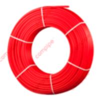 Труба из сшитого полиэтилена д/тепл.пола Compipe 20.0х2,0 КРАСНАЯ PERT с антидиффузионным слоем EVOH  РОССИЯ